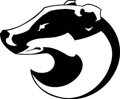 Badger Clipart-Badger Clipart-9