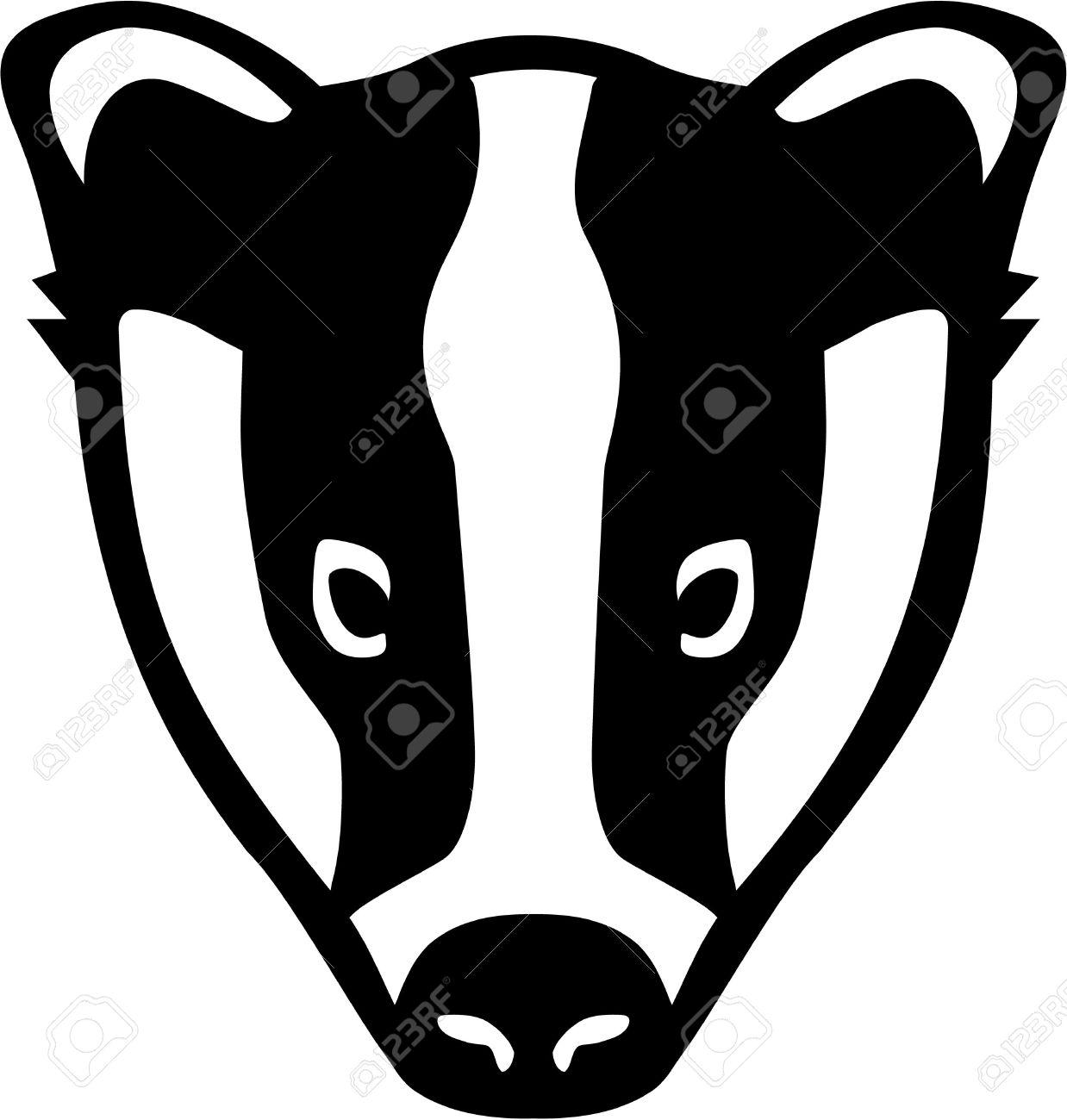 Badger Clipart Outline - ClipartFest-Badger clipart outline - ClipartFest-10