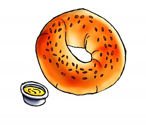 Bagel 1 Bread Clipart-Bagel 1 Bread Clipart-0