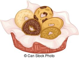 ... Bagels Flavors - Illustration Featuring Bagels of Different.