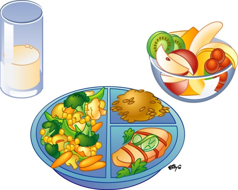 Balancedmeal Jpg Clipart Free Nutrition And Healthy Food Clipart