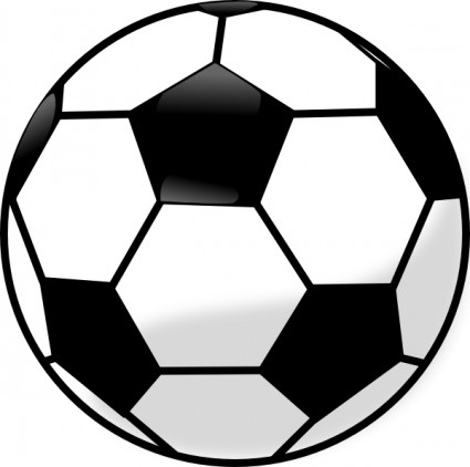 ball clipart - Soccerball Clip Art