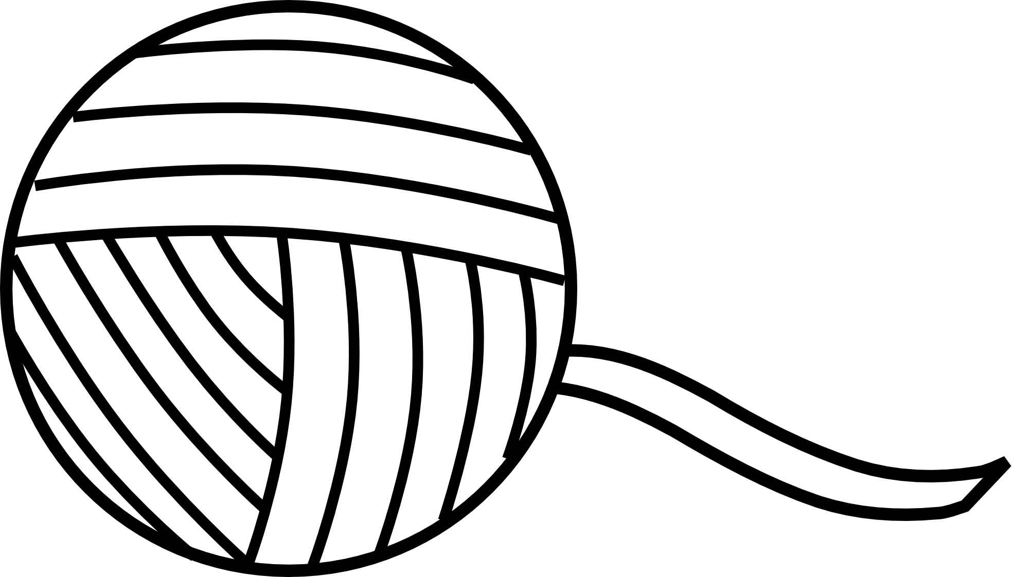 Ball Of Yarn Clipart #1 .-Ball Of Yarn Clipart #1 .-0