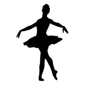 Ballerina 3 Stock illustration