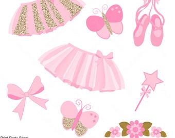 Ballerina Clipart / Tutu Clipart / Insta-Ballerina Clipart / Tutu Clipart / Instant Download-1
