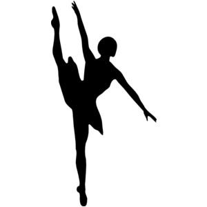 Ballet Dancer clip art .