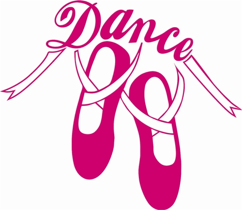 Ballet Slippers Dance Stickers Clipart Best Clipart Best