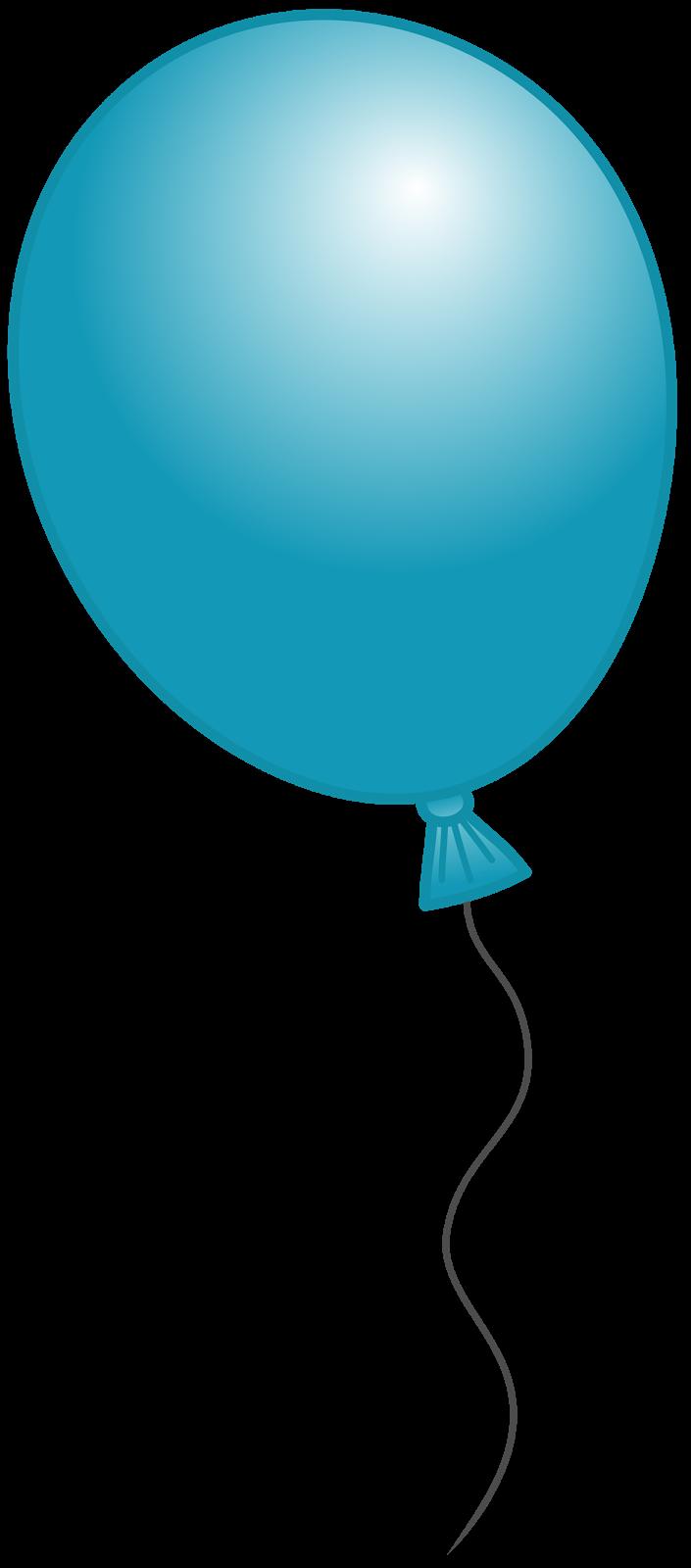 Balloon Clipart: Blue Balloon Clipart-Balloon clipart: Blue Balloon Clipart-3