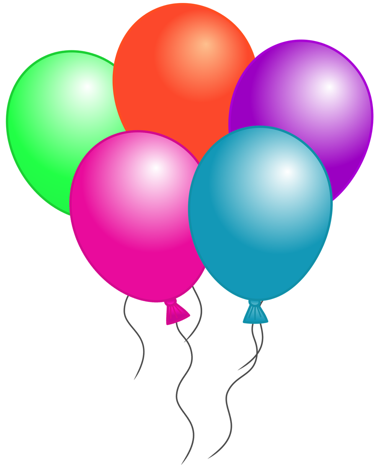 Balloon Clipart Png Clipart P - Birthday Balloons Clip Art