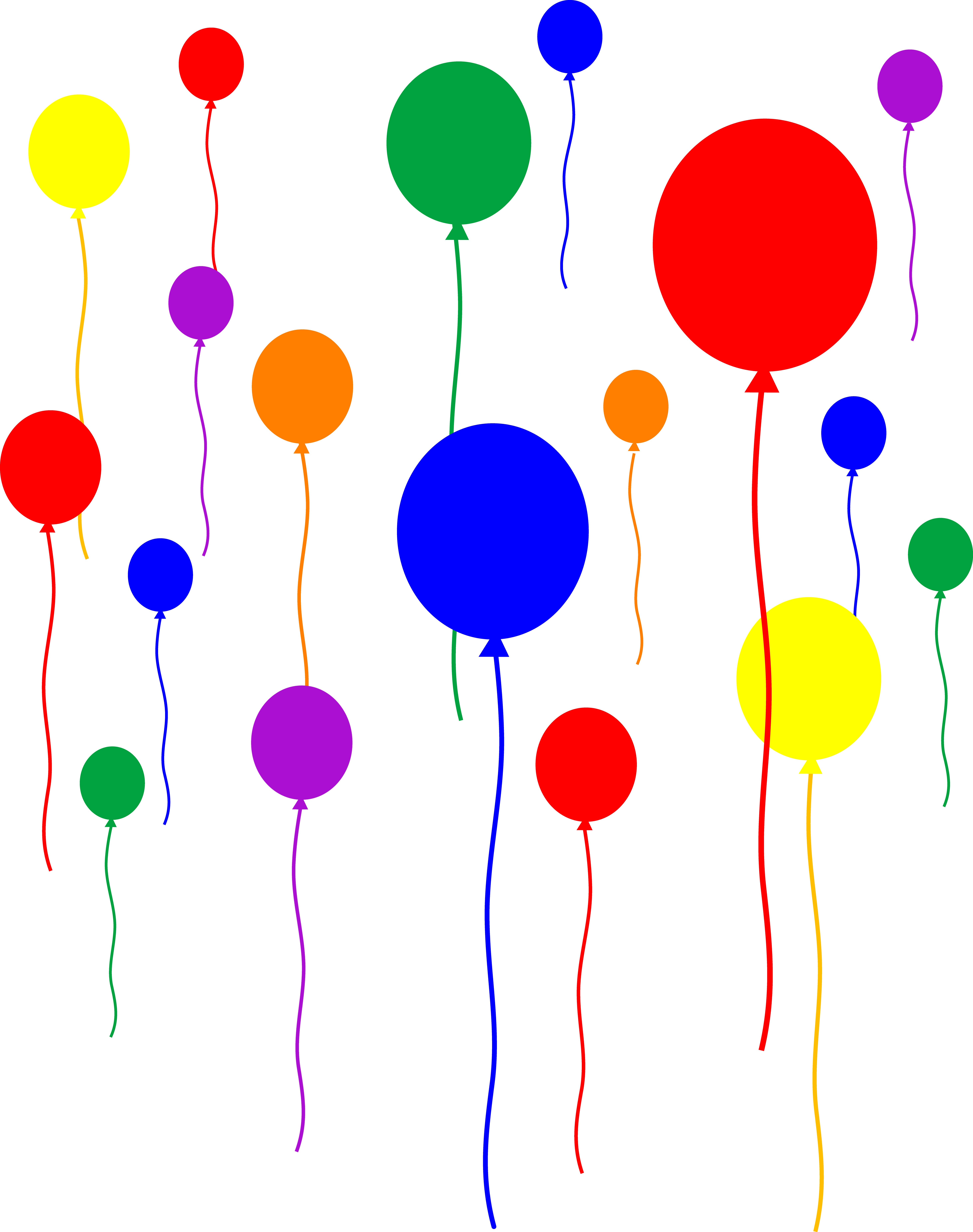 Balloon clipart transparent background - ClipartFox