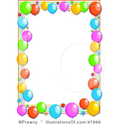 Balloon Designs Pictures Balloon Borders Clipart