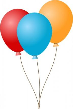 Balloons clip art Free vector in Open of-Balloons clip art Free vector in Open office drawing svg-3