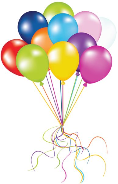 BALLOONS u0026middot; Balloons FillerClip Art ...