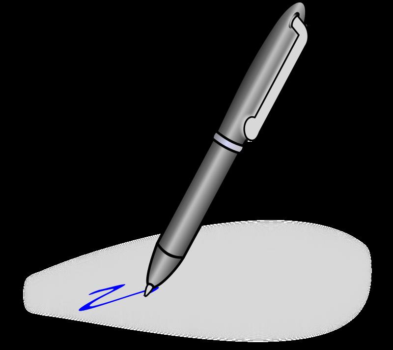 Ballpoint pen clipart free clipart images