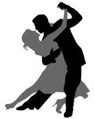 Ballroom dance shoes clipart - .