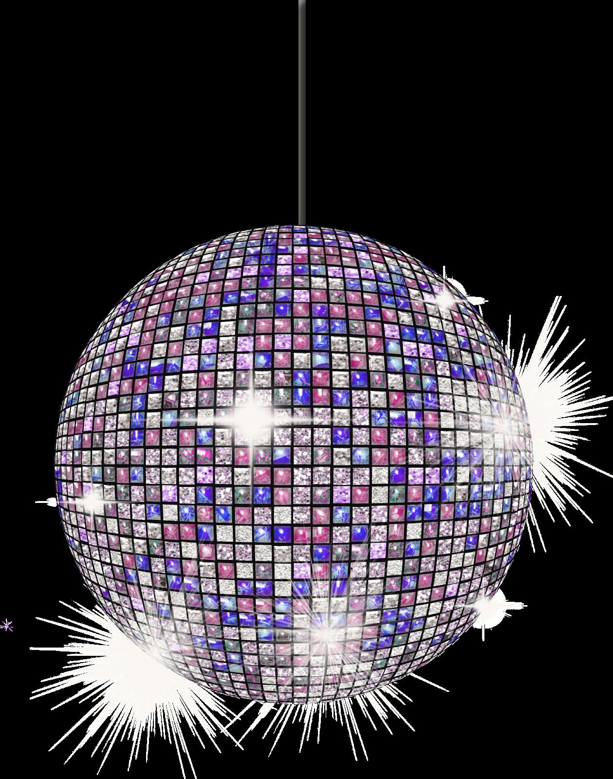 Ballroom Disco Ball Clipart #1