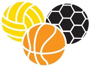 Balls Clipart Image: Various Sports Balls