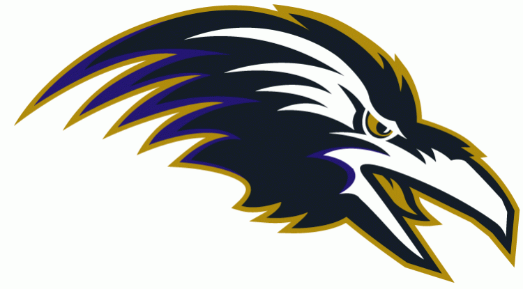 Baltimore Ravens Alternate Logo (1996 - -Baltimore Ravens Alternate Logo (1996 - 1998)-3