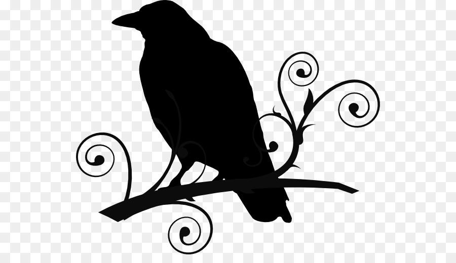 Common Raven The Raven Baltimore Ravens -Common raven The Raven Baltimore Ravens Clip art - Tribal Crow Tattoo  Designs-16