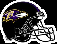 Ravens Helmet Clipart #1