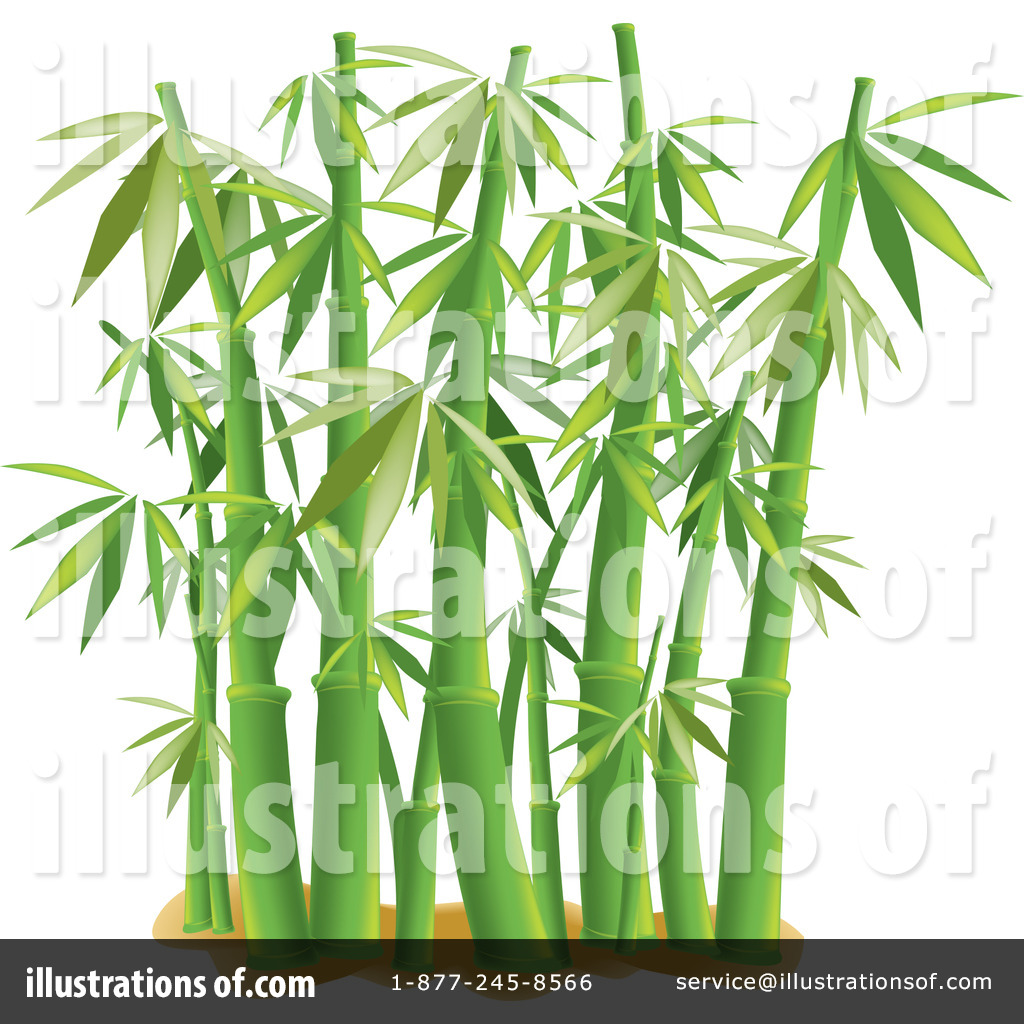 Royalty-Free (RF) Bamboo Clipart Illustration #1081869 by Pams Clipart