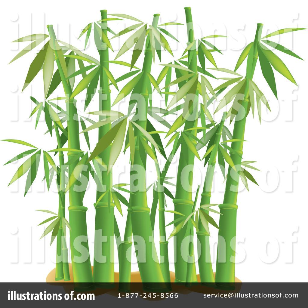 Royalty-Free (RF) Bamboo Clipart Illustr-Royalty-Free (RF) Bamboo Clipart Illustration #1081869 by Pams Clipart-0