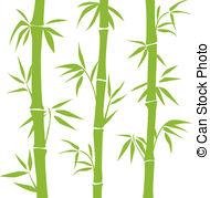 ... Bamboo - Green Vector Bamboo On The -... Bamboo - Green vector Bamboo on the white background-12