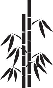 bamboo Silhouette Clip Art | Bamboo Clip-bamboo Silhouette Clip Art | Bamboo Clipart Image - Silhouette Of A Stand Of Bamboo-18