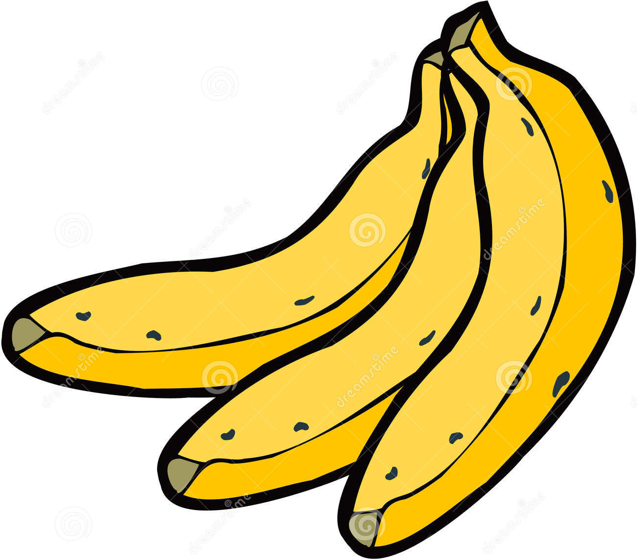 banana clipart black and white-banana clipart black and white-11