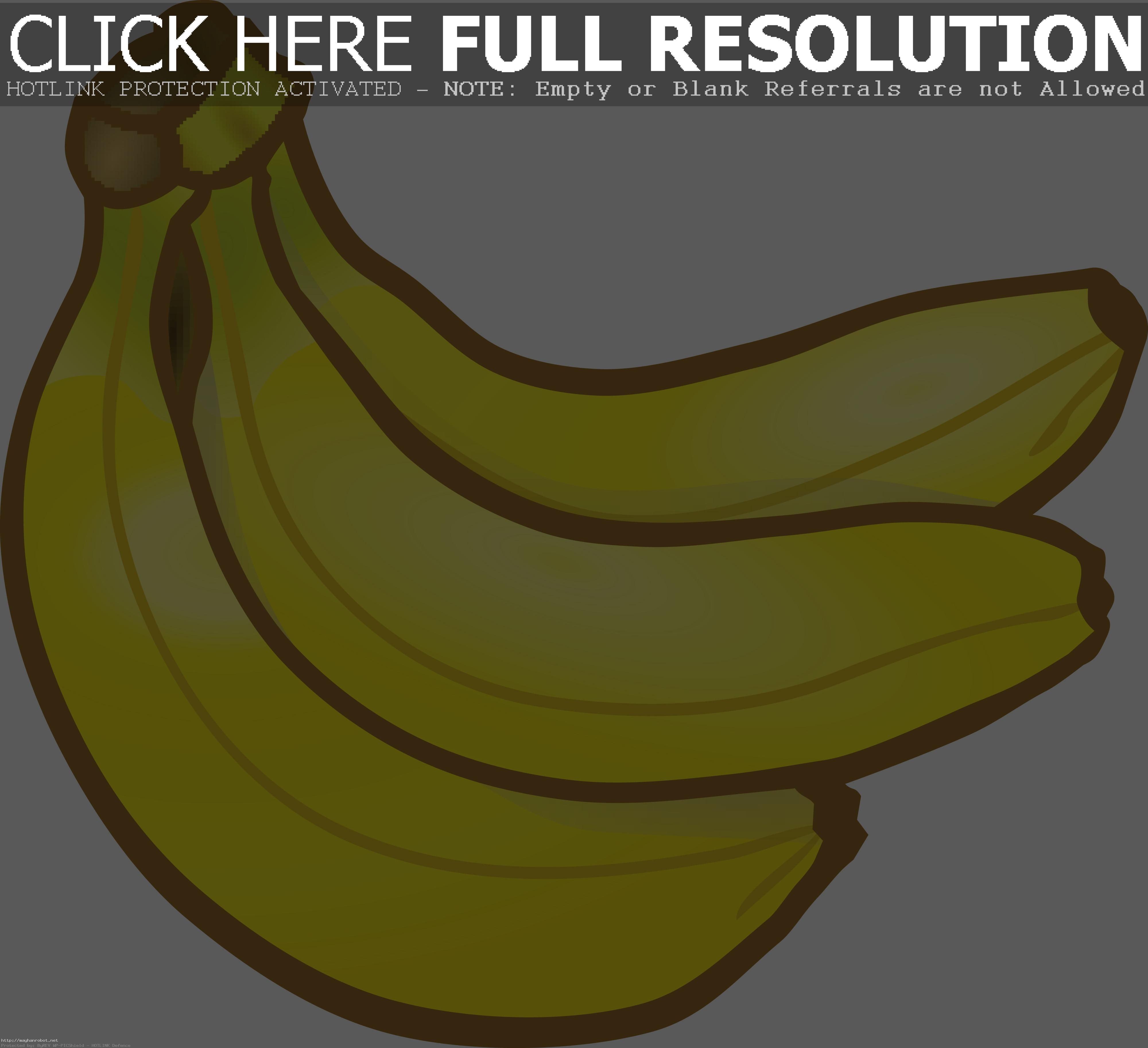 1636 Free Clipart Of A Banana Clip Art