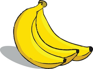 Banana clipart black and white clipart cliparts for you