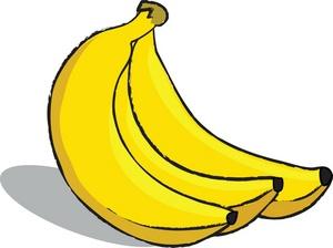 Banana Clipart Black And White Clipart C-Banana clipart black and white clipart cliparts for you-7