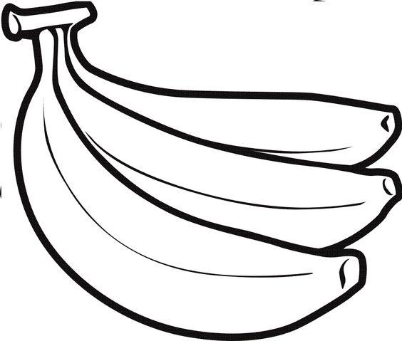 Banana Clipart Black And White-Banana clipart black and white-1