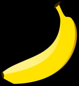 Free Banana Clipart #1