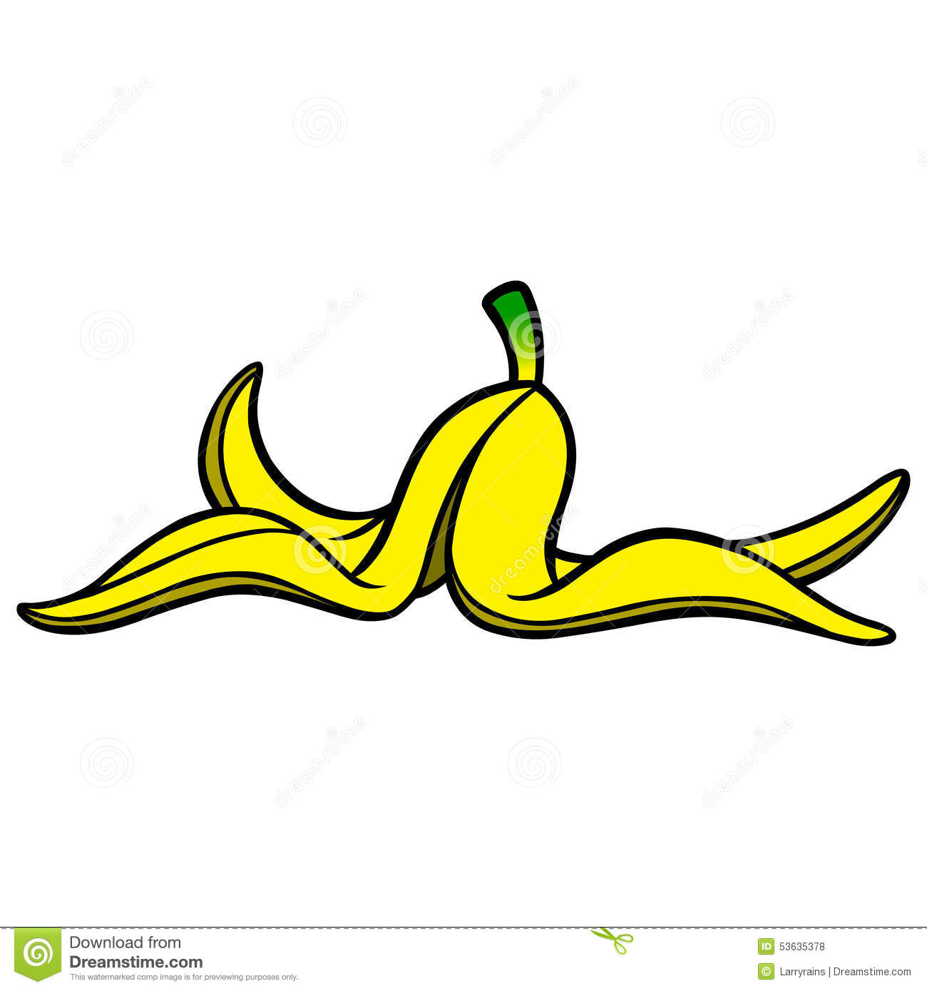 Banana Peel Clipart Banana. Banana Peel Royalty Free Stock .