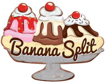 Banana Split Ice Cream Parlor .-Banana Split Ice Cream Parlor .-2