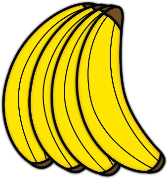 Bananas clip art free clipart images