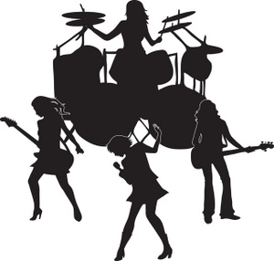 Rock Band Clipart
