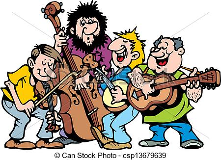 Band Clipart Vector Happy Music Band-Band Clipart Vector Happy Music Band-7
