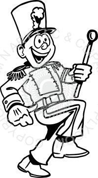 Band Drum Major-Band Drum Major-3