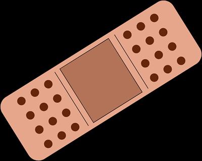 bandage clipart