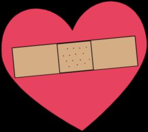 Bandaged Heart Clip Art Image-Bandaged Heart Clip Art Image-6