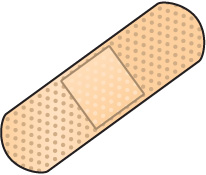 Bandaid bandage black and white clipart -Bandaid bandage black and white clipart kid-17