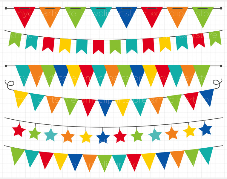Banners In Primary Colors .-Banners In Primary Colors .-7