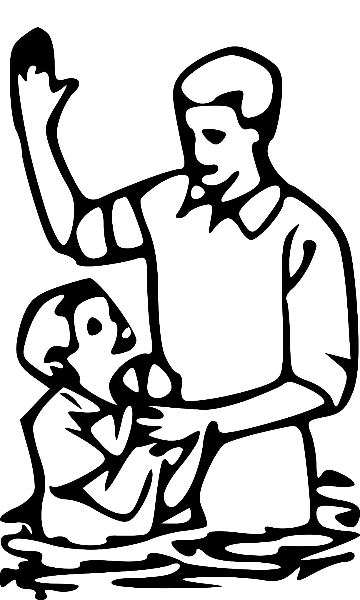 Baptism Large version | SVG