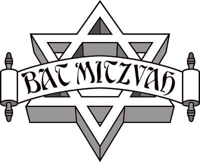 Bar u0026amp; Bat Mitzvah Clip Art