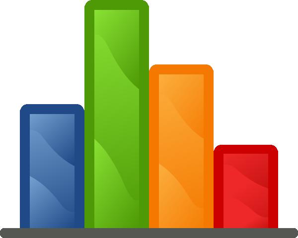 Bar Chart Glassy Clip Art At Clker Com Vector Clip Art Online