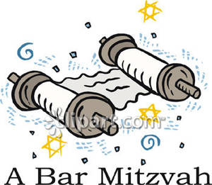 Bar Mitzvah Royalty Free Clipart Picture