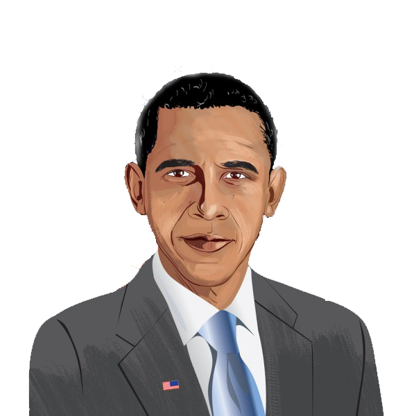 Barack Obama Clipart