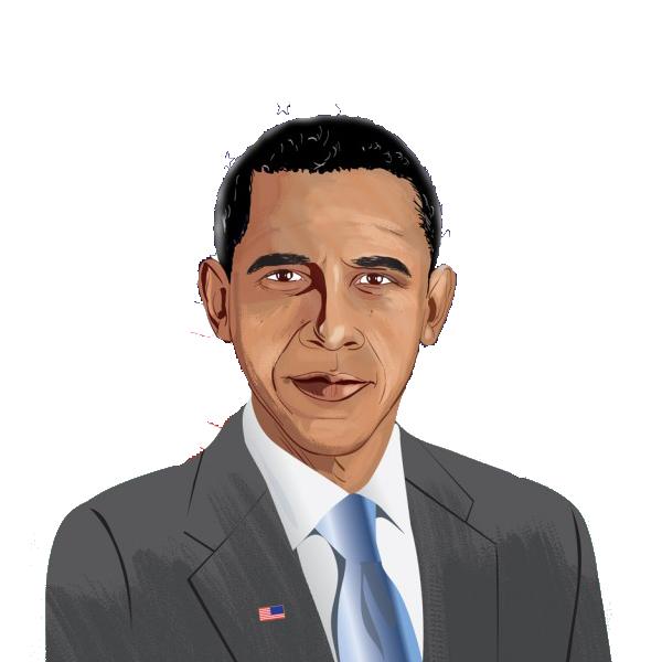 Barack Obama Clipart-Clipartlook.com-600